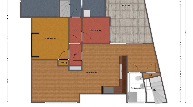 oosterspoorlaan 7A- floorplan2